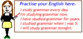 Learn and practise English grammar here.